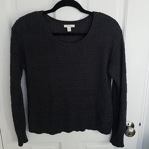 Caslon Knit Sweater Navy XS Petite